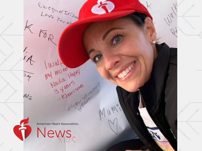 News Picture: AHA News: After Stroke, Heart Surgery and Heart Attack, Runner Vows to Reclaim Her Strength