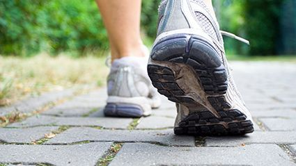 News Picture: 'Slow Walkers' at Higher Odds for Severe COVID-19