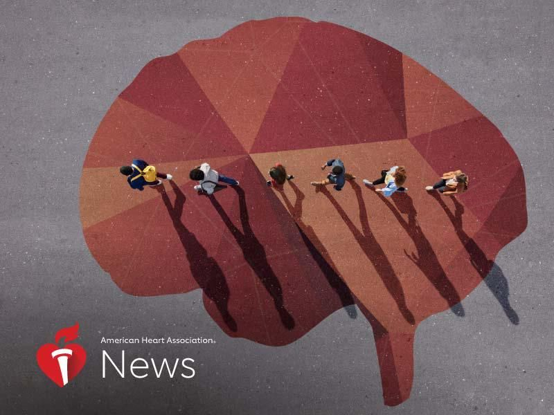 News Picture: AHA News: Young Adults Have Strokes for the Same Reason as Older Adults