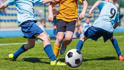 News Picture: Which Kids' Sports Have Higher Odds for Head Injury?
