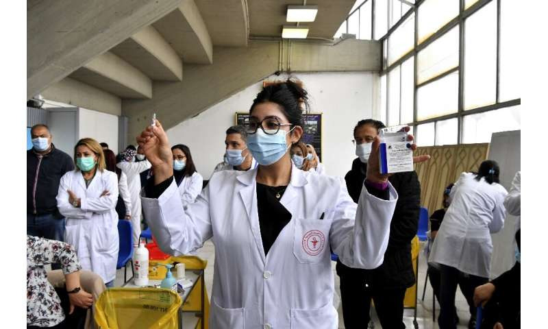 Tunisia was among the latest countries to have started its vaccine rollout